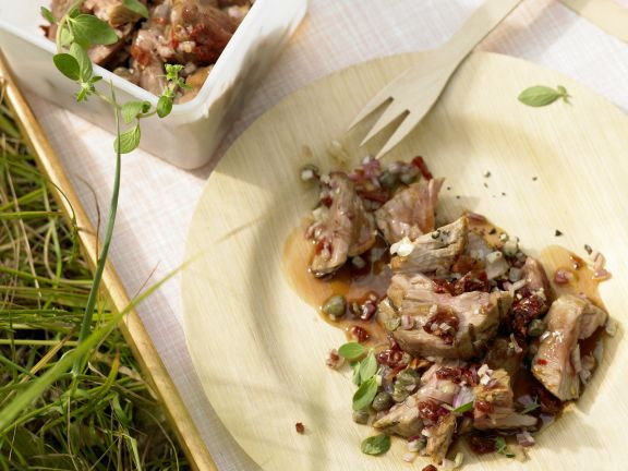 Thunfischtatar vom Grill