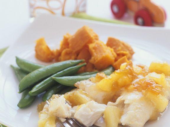 Tilapia mit Süßkartoffeln