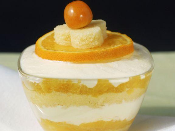 Tiramisu mit Orange
