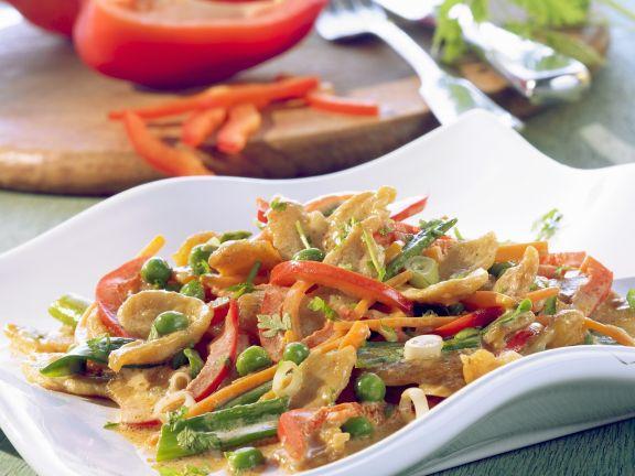 Tofu-Ragout mit Paprika