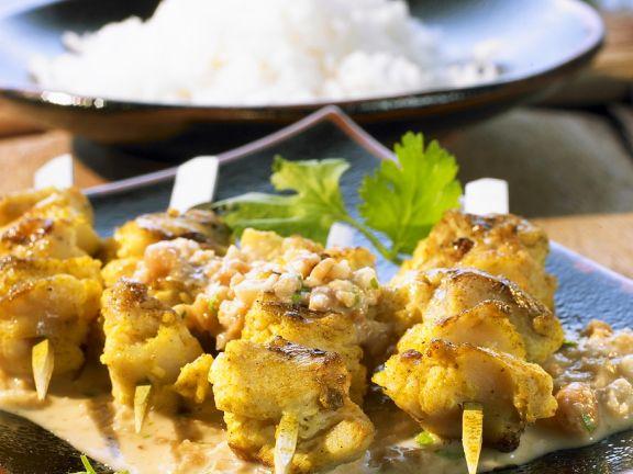 Tofu-Saté