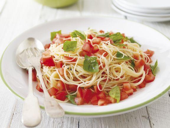 Tomaten-Basilikum-Pasta