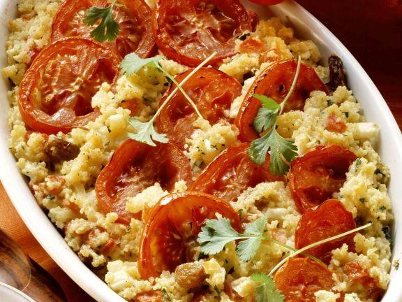 Tomaten-Couscous-Auflauf