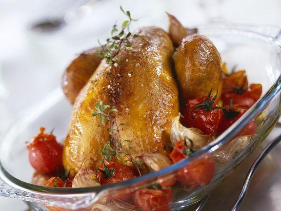 Tomaten-Hähnchen