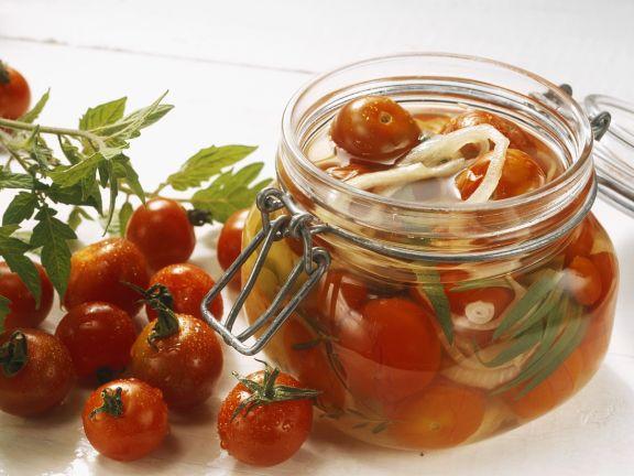 Tomaten in Essig