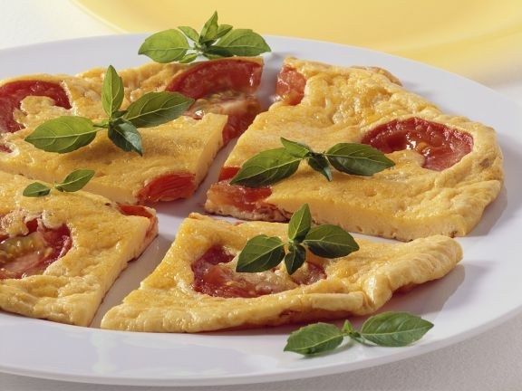 Tomaten-Käse-Frittata