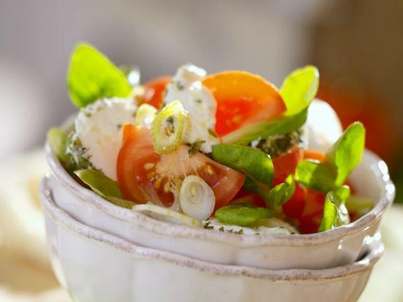Tomaten-Käsesalat