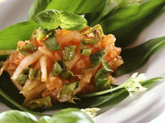 Tomaten-Mangold-Salsa