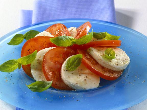 Tomaten-Mozzarellasalat