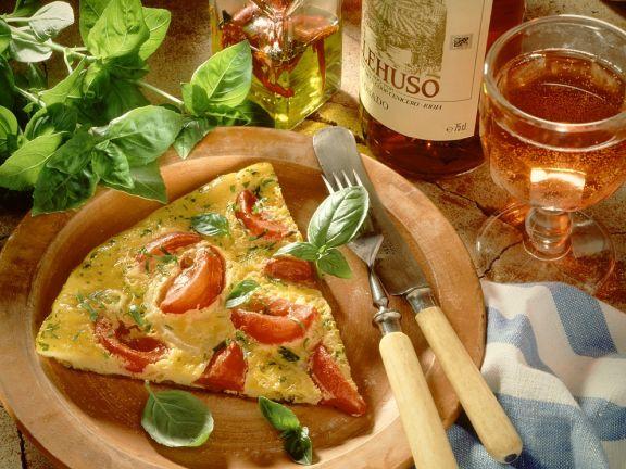 Tomaten-Omelett