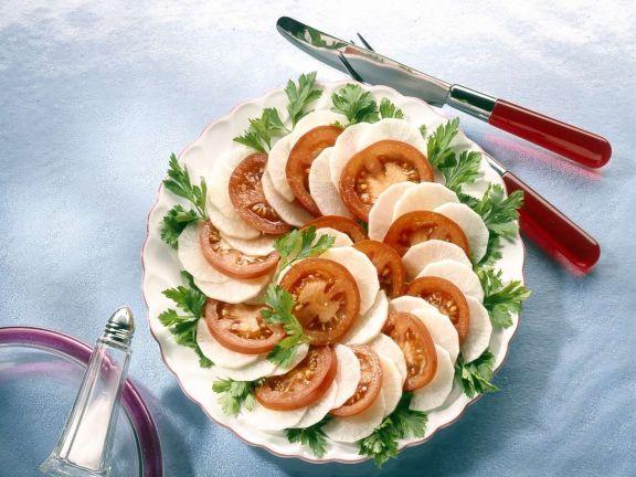 Tomaten-Rettichsalat