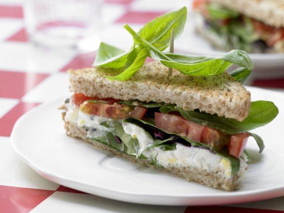 tomaten sandwich rezept eat smarter. Black Bedroom Furniture Sets. Home Design Ideas