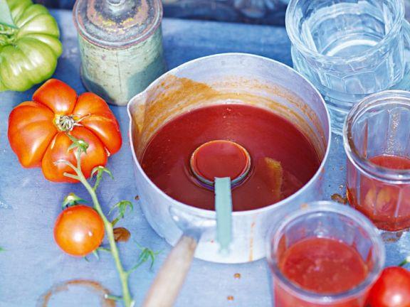 Tomaten-Vanille-Marmelade