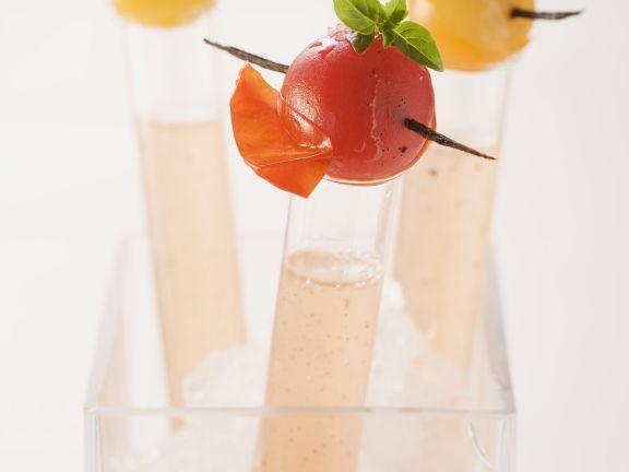 Tomatenbrühe mit Vanille