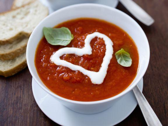 Tomatensuppe für Verliebte