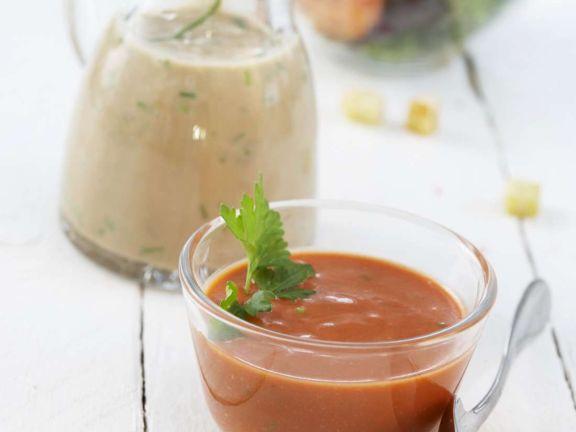 Tomatenvinaigrette mit Joghurt