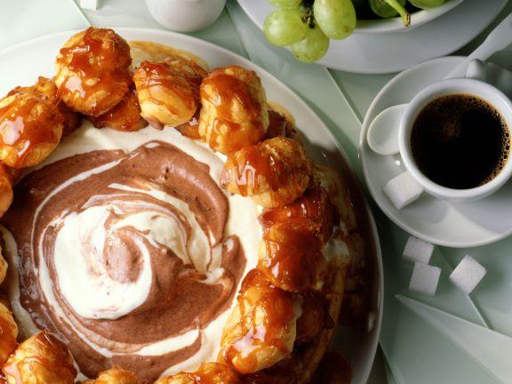 Torte St. Honoré mit Joghurtmousse