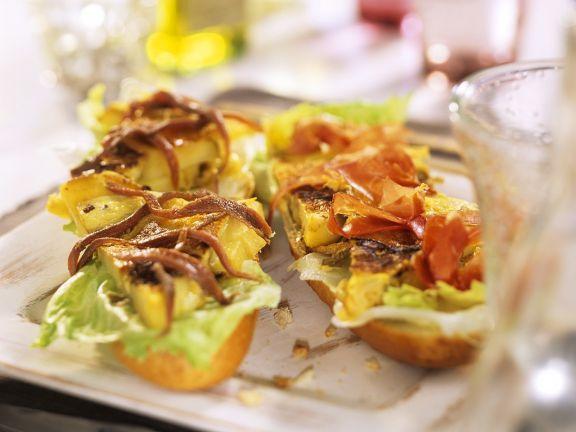 Tortilla-Brötchen