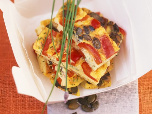 Tortilla mit Kürbiskernen