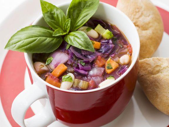 Toskanische Gemüsesuppe