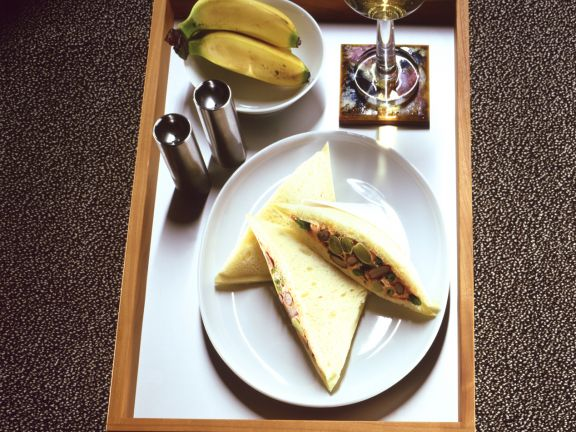 Tramezzini mit Bohnen
