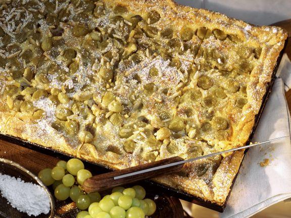 Trauben-Blechkuchen