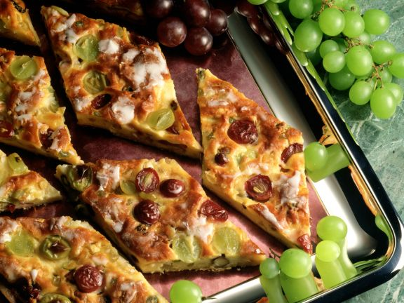 Trauben-Schmand-Kuchen