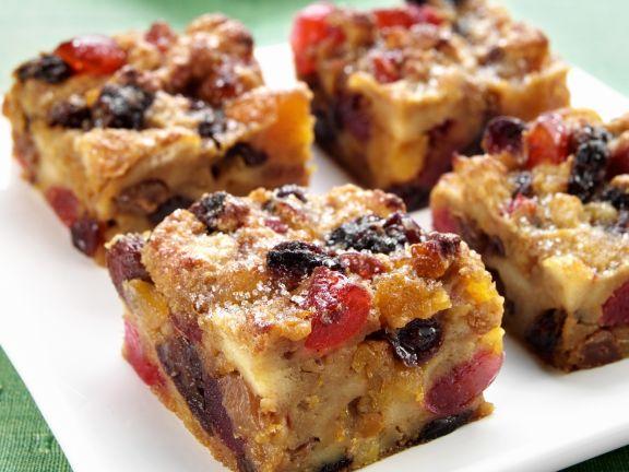 Trockenfrüchte-Kuchen
