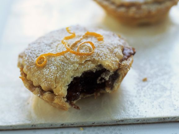 Trockenfrüchte-Küchlein auf englische Art (Mince Pie)