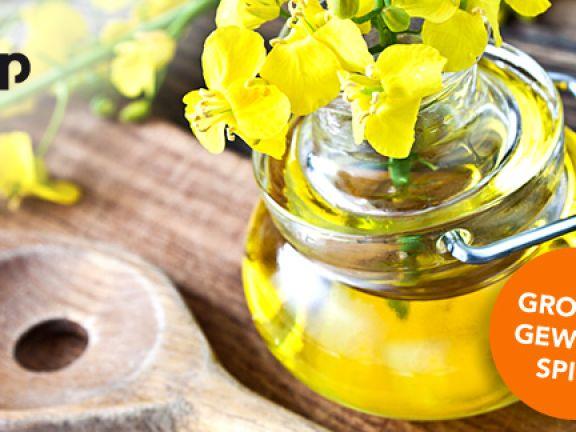 Frühlingsrezepte mit Rapsöl