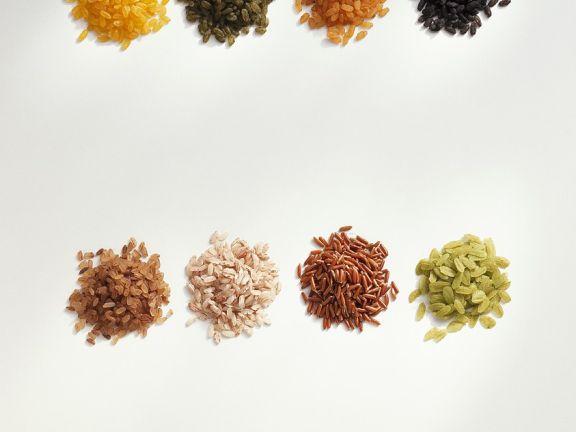 Ungewöhnliche Reissorten – parboiled, gefärbt und gewürzt