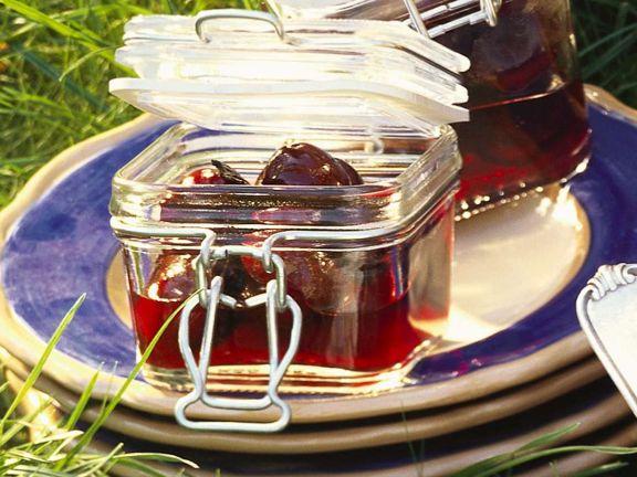 Vanille-Kirschen