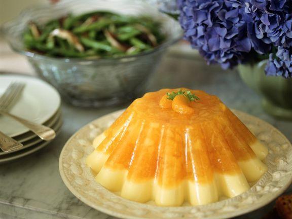 Vanille-Orangenpudding