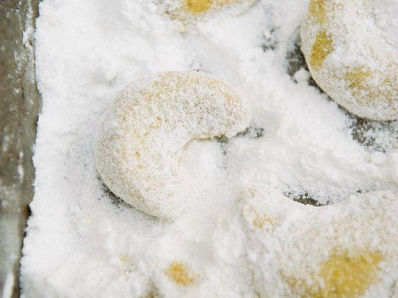 Vanillekipferl selbstgebacken