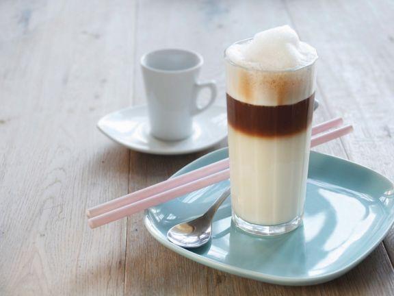 Veganer Latte-Macchiato