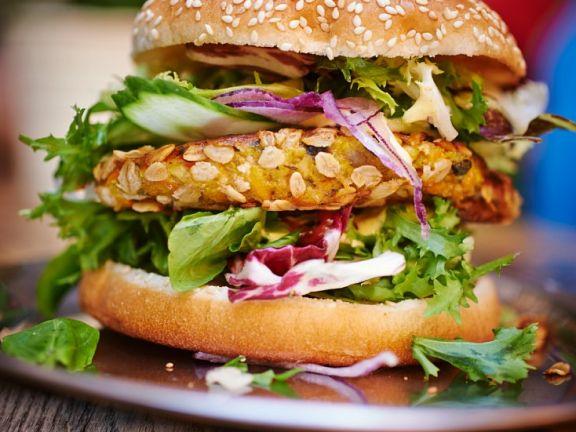 vegetarischer burger rezept eat smarter. Black Bedroom Furniture Sets. Home Design Ideas
