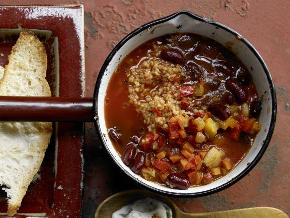 Vegetarisches Chili Rezept Eat Smarter