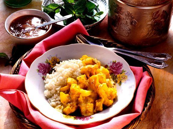 Vegetarisches Curry