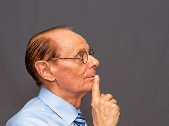 Im Alter werden viele Menschen vergesslich © DOC RABE Media