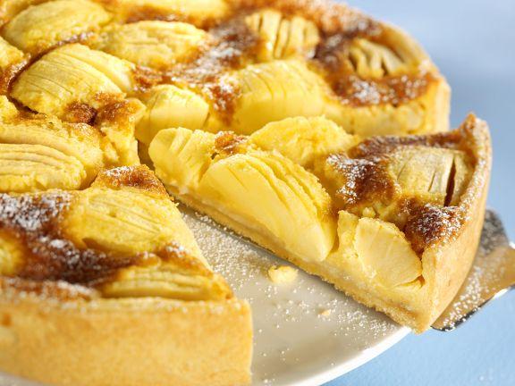 Versunkener Dinkel-Apfelkuchen