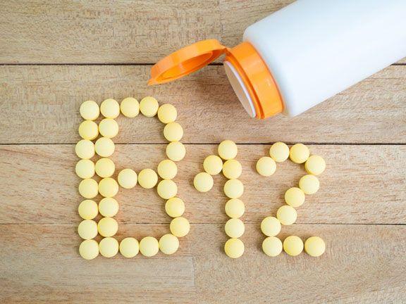 Pillen formen Vitamin B 12