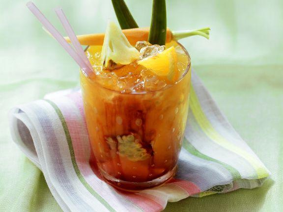 Vitaminbombe (Fruchte-Gemüse-Cocktail)