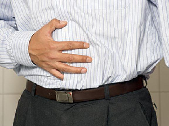 Sehr fettiges Essen kann Völlegefühl auslösen.