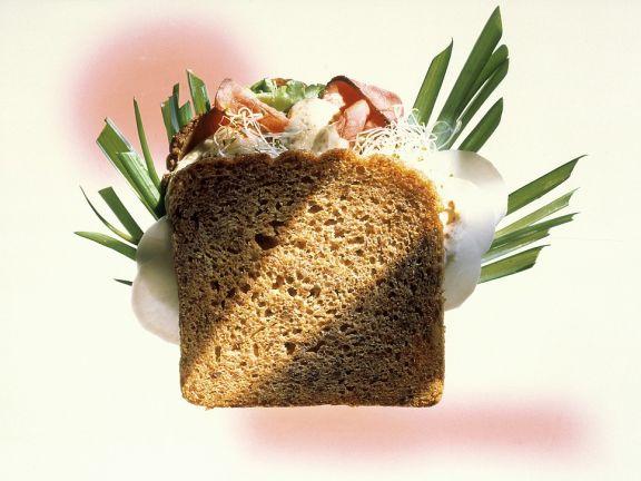 Vollkorn-Roastbeef-Sandwich