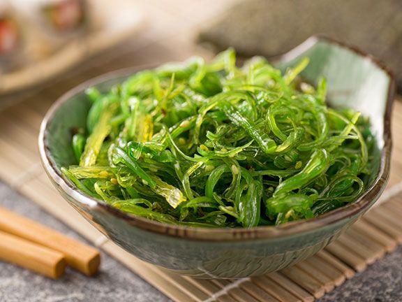 Wakame ist eine japanische Alge