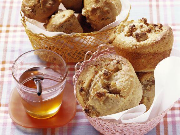 Walnuss-Honig-Muffins