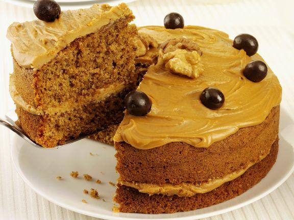 Walnuss Kaffeecreme Kuchen Rezept Eat Smarter