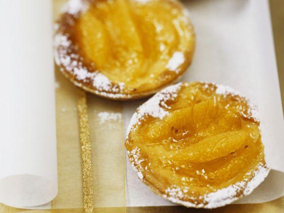 Walnuss-Orangen-Tartelettes
