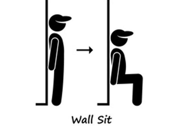 Eine Woche Wandsitzen