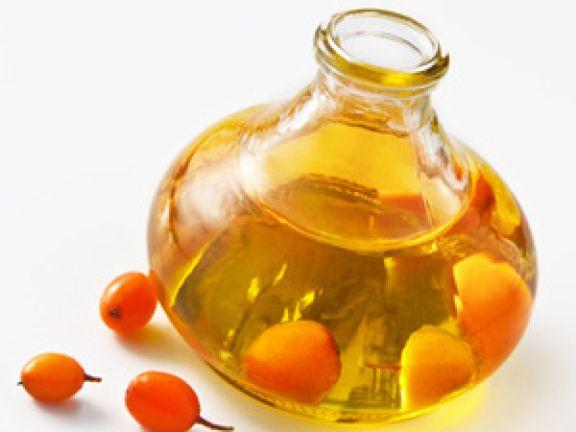 Sanddornöl ist ein sehr kostbares Öl